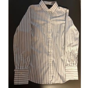 Striped Banana Republic button down